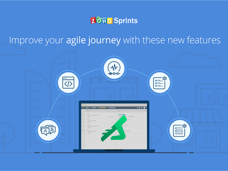 Zoho Sprints - An Online Agile Project Management Software