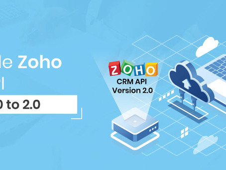 Features in the Zoho APIs 2.0