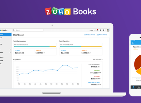Zoho Books -  A Business Accounting Software