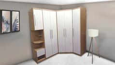 Roupeiro, camas box e colchões