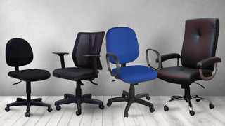 Cadeiras e longarinas