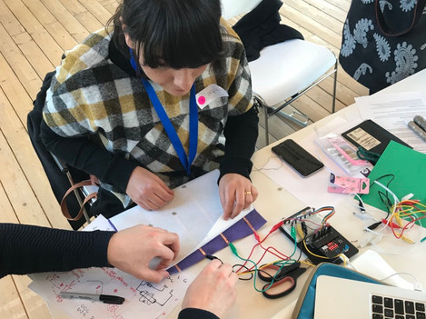 E-textile Playground Workshop: Research Through Design Conference 2019