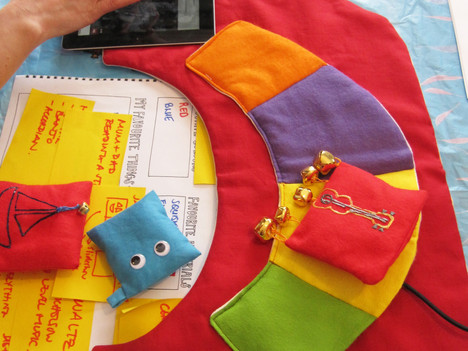 KISTproject with Children's Hospices Across Scotland (CHAS) 2012