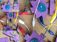 E-textile Jigsaw: Textile Connections Doctoral Research