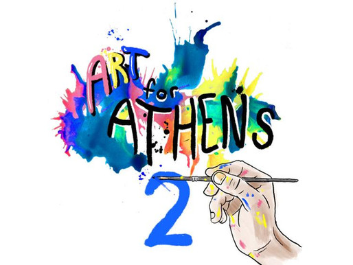 The Red & Black Launches Art for Athens 2 Fundraiser