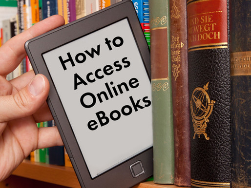 ACC Library to hold online class on checking out and downloading books