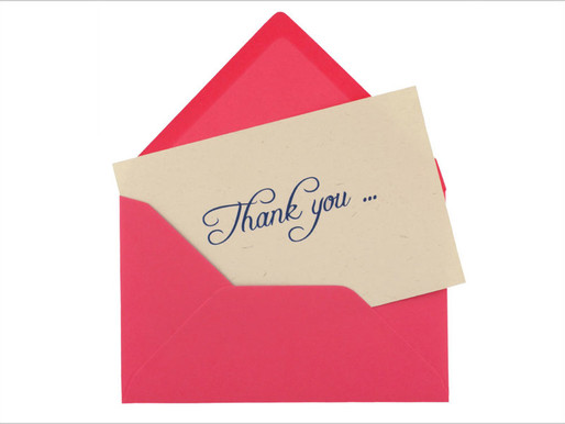 Youth workshop to be offered on art of writing 'Thank You' notes