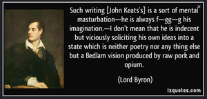 The Physical Birth And Critical Death Of John Keats
