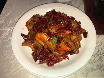 Whole Sauteed Prawns
