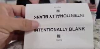 """Intentionally Blank"" Inserts?"