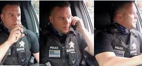 Cop Satire Suspension