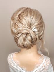 elegant bridal up
