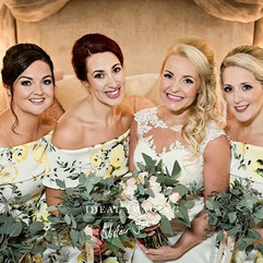 😍 _hitcheduk _rivervalebarnweddings _alistair_jones_photography #stunning #wedding #makeup by helen at #TotallyFlawless #hair by me at Total