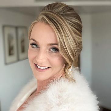 Beautiful elegant hair and makeup tonigh