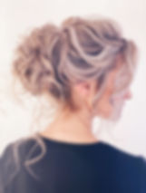 bridal hair - up do