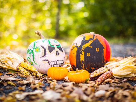Time to Paint a Pumpkin!