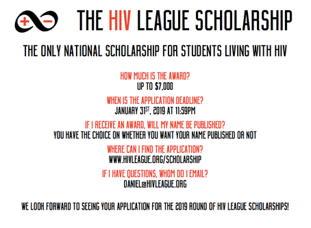 2019 HIV League Scholarship