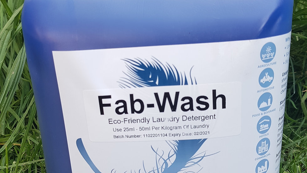 Fab-Wash Laundry Detergent