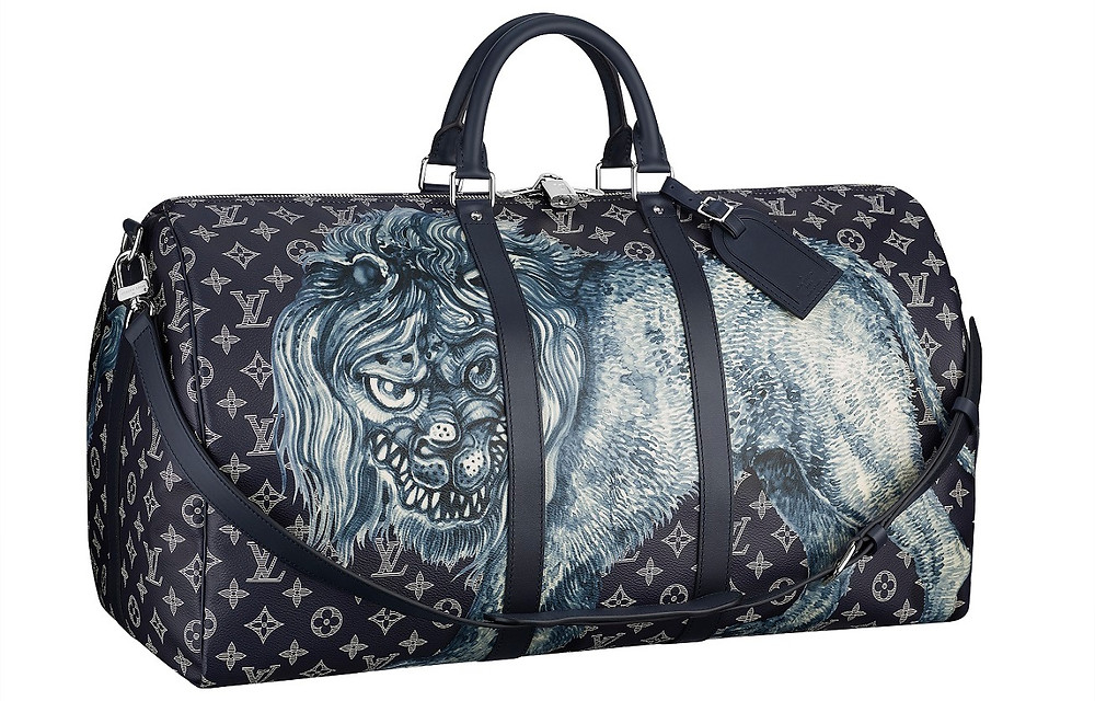 Louis Vuitton Keepall 55 Limited Edition by Jake & Dinos Chapman