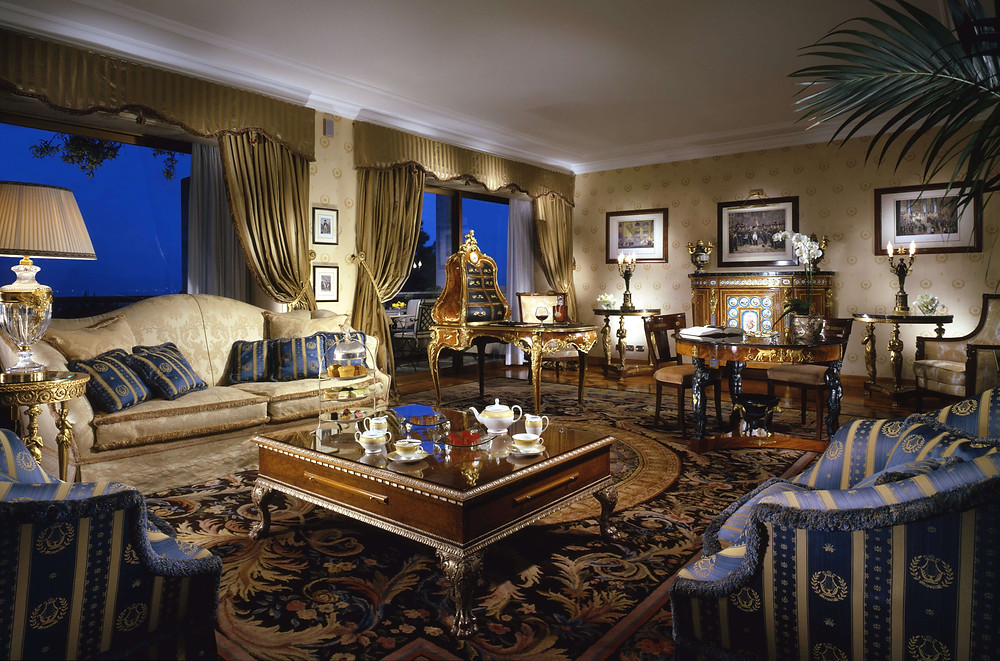 Penthouse Suite at Rome Cavalieri
