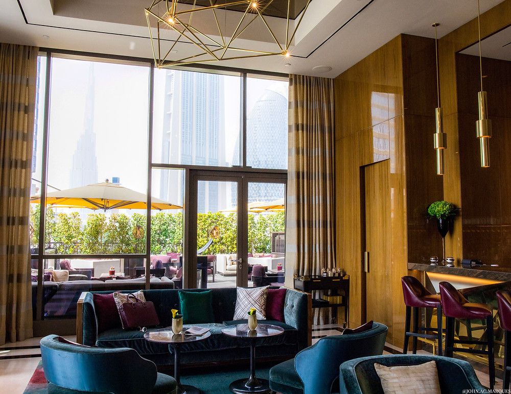The Penrose Lounge in DIFC's Four Seasons Hotel