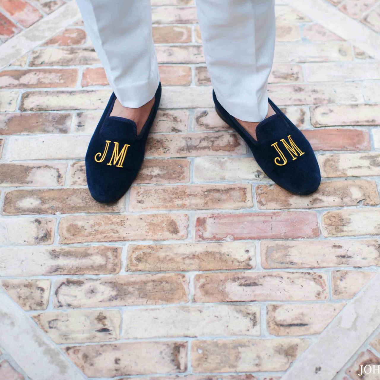 Custom Arthur Sleep Velvet Slippers.