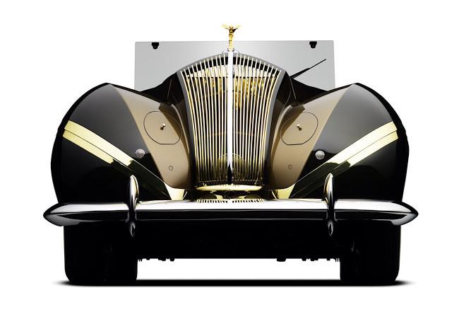 Labourdette Rolls Royce Phantom III Vutotal Cabriolet