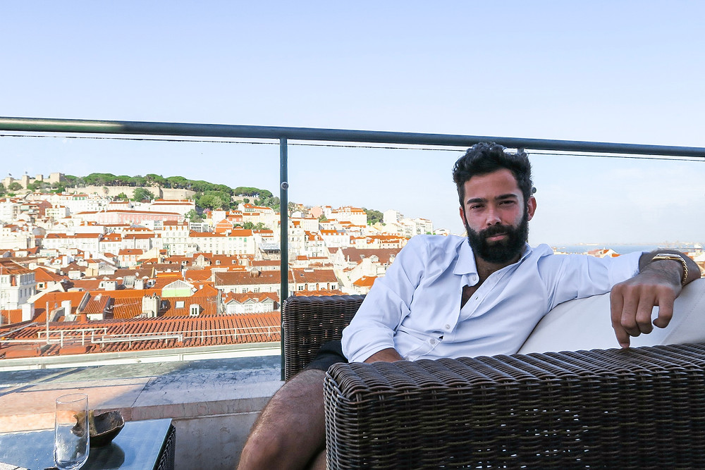 At the Hotel do Chiado rooftop