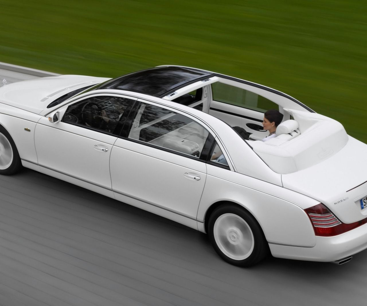 Limited to only 8 units, the Maybach Landaulet was one of the most expensive automobiles at the time with a price set at $1.35M