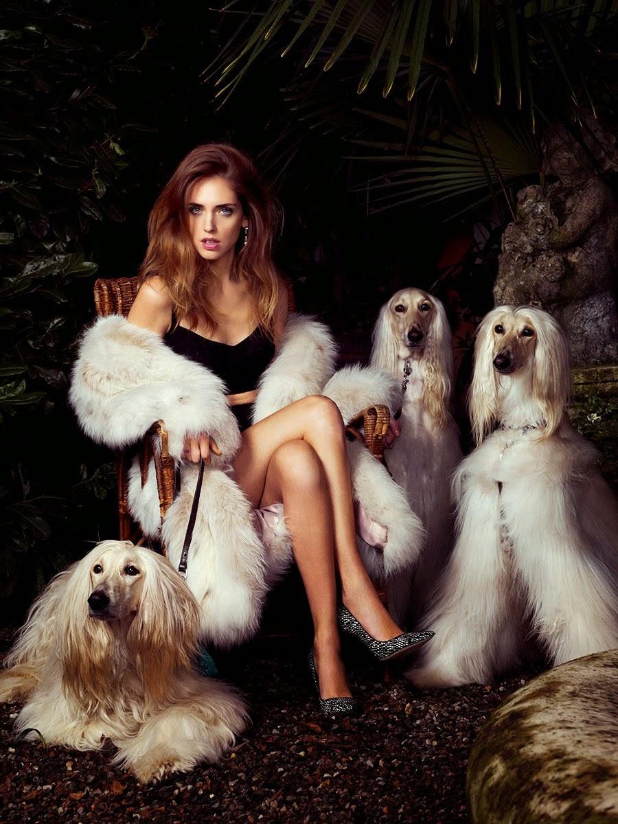 Chiara Ferragni for Vogue Spain