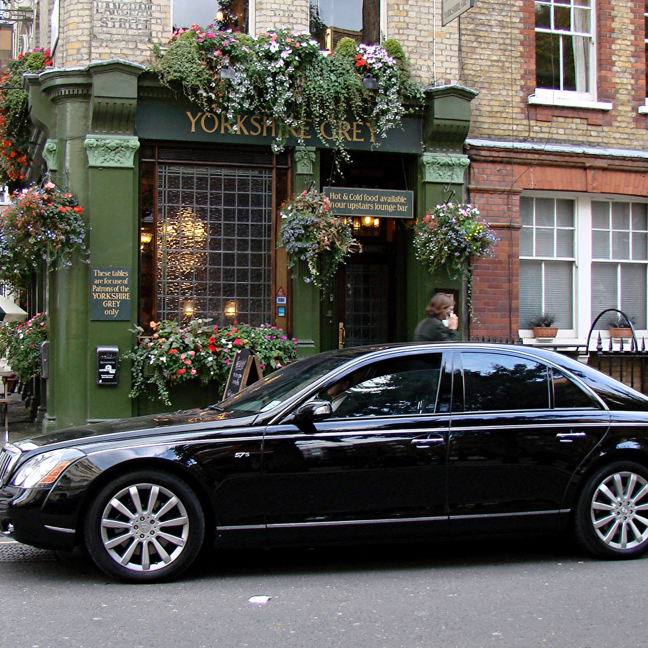 This is virtually the same as the regular Maybach 57 model but with a more powerful V12 engine.