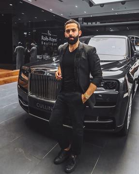 Rolls Royce Cullinan Dubai Premiere