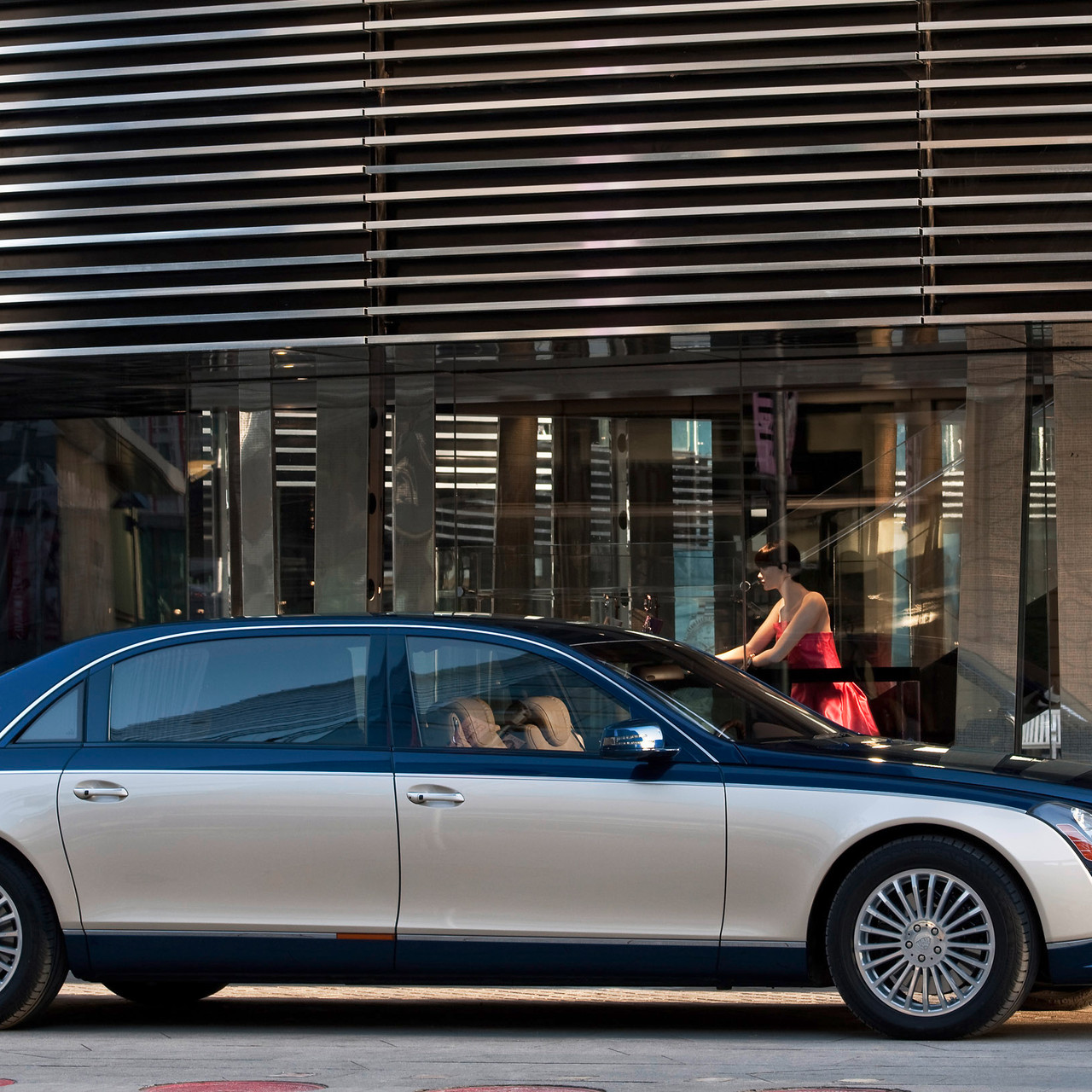 As with the Maybach 57, the S version is an updated and more powerful version of the standard model.