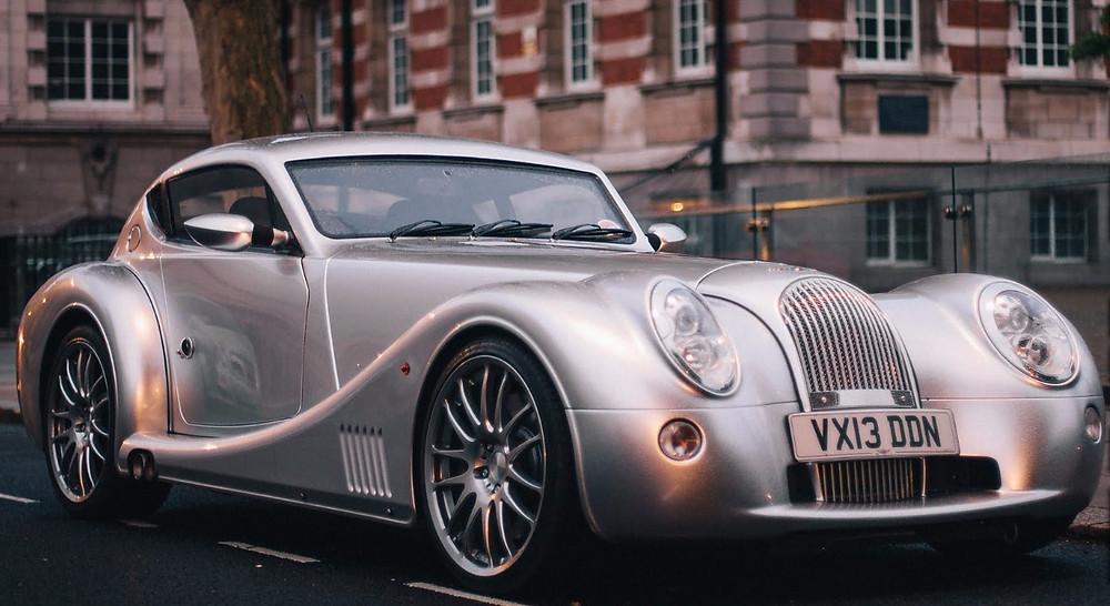 Morgan Motors Aero 8 - Classic Car , grey, parked in london