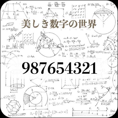 [#032] 987654321
