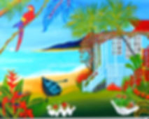 Best Exotic Tropical Beach Shack Email S