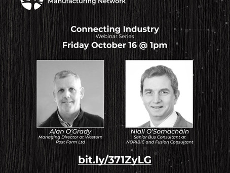 Connecting Industry - Friday Webinar at 1pm