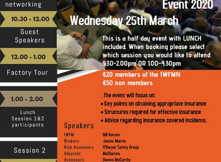 Insurance EVENT 2020 - Wednesday 25th March