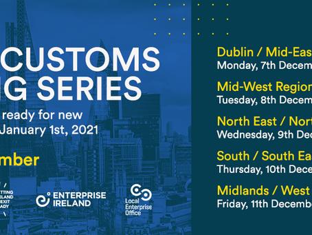 WEBINARS: Brexit Customs Briefing Series