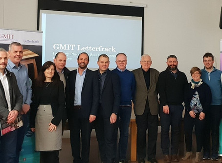 GMIT Letterfrack Industry Forum, Galway January 23rd, 2020