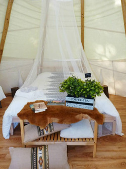 Room in the tipi