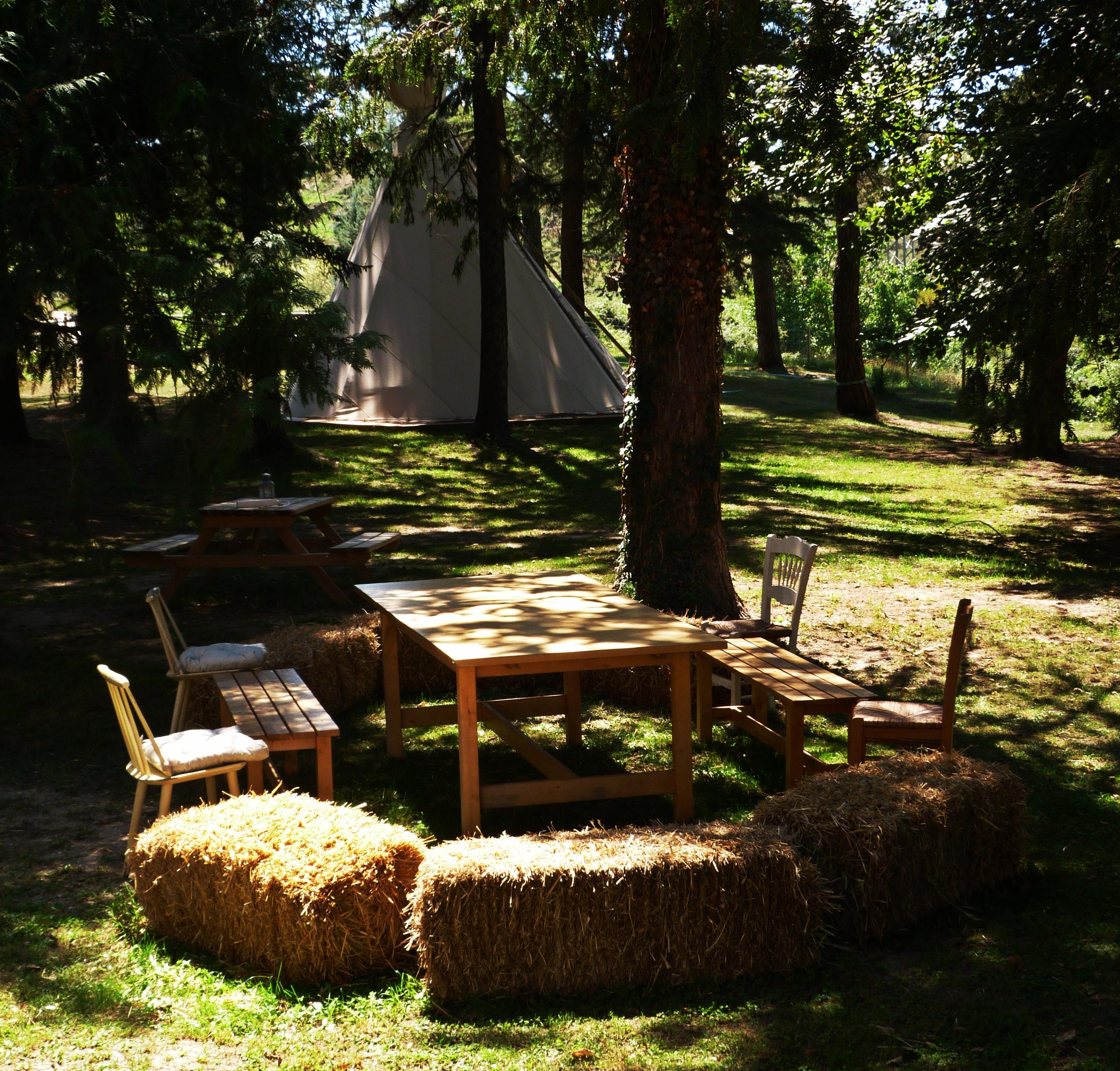 Garden relax zone