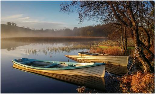 'Morning light on Fishing Boats' by Mark Winning, CB Camera Club
