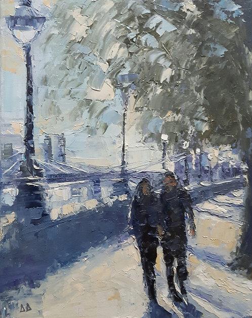 Sunshine, the Embankment