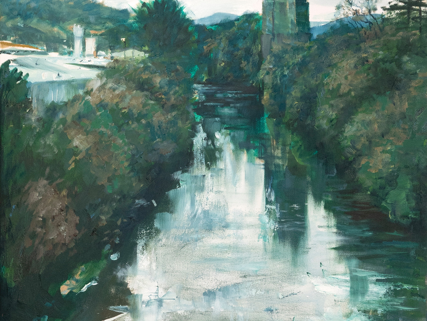 Kevin Williams - On the River Taff
