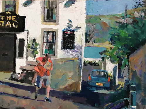 'Cemaes Delivery' original painting