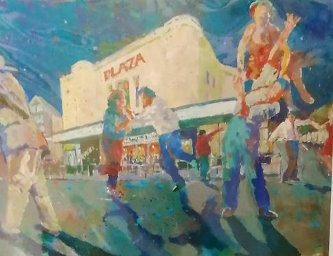 'Rocking at the Plaza'