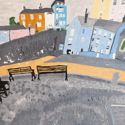 Tenby Harbour on a Grey Day