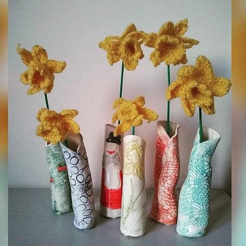 3 little vases workshop with Anna Hale AH007