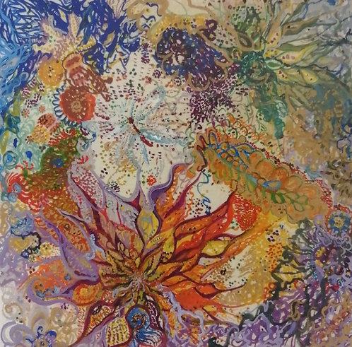 'My Garden' Giclée Print